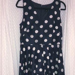 Ann Taylor Polka Dot Dress